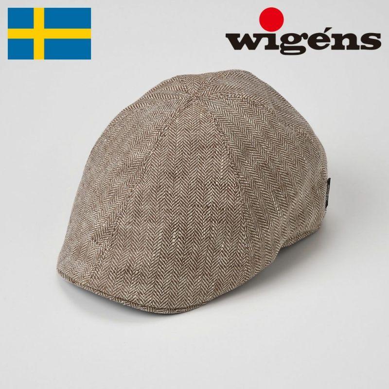 帽子 ハンチング Wigens(ヴィゲーンズ) Pub Cap(パブキャップ)W101246 ブラウン