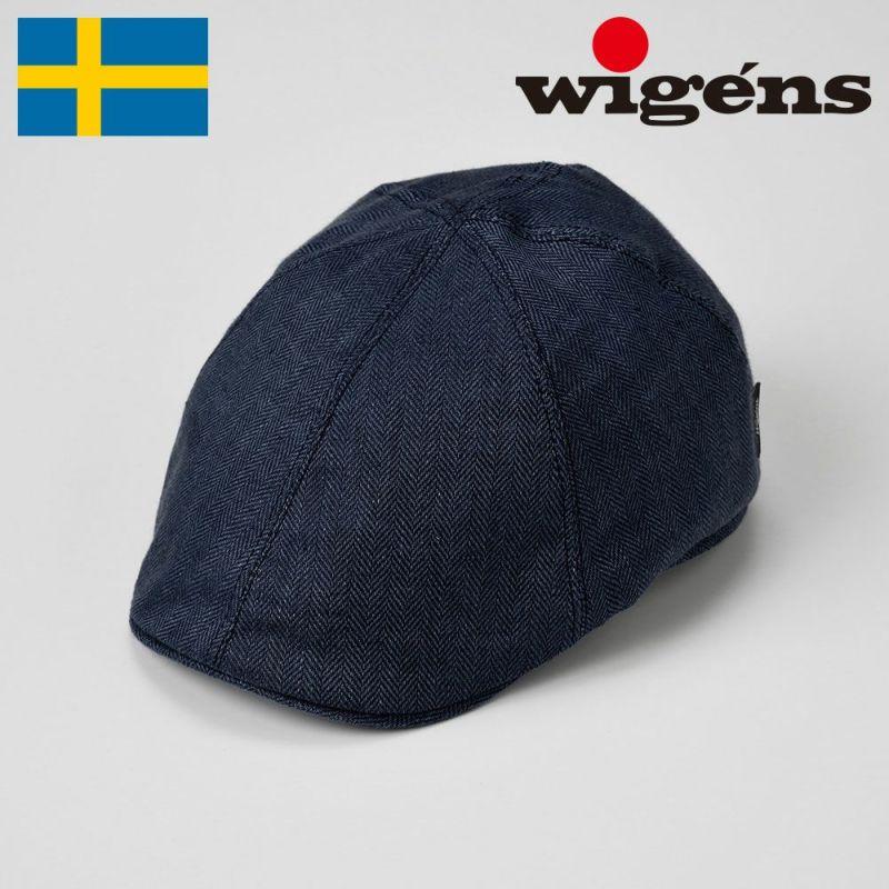 帽子 ハンチング Wigens(ヴィゲーンズ) Pub Cap(パブキャップ)W101246 ネイビー