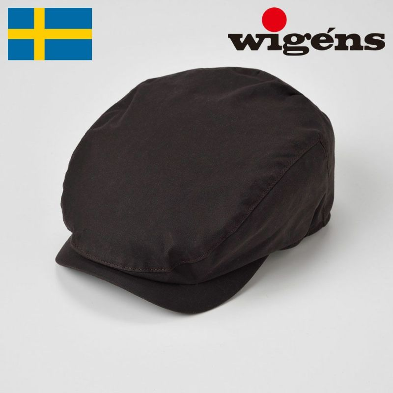 帽子 ハンチング Wigens(ヴィゲーンズ) Ivy Contemporary Cap(アイビー コンテンポラリー キャップ)W101252 ダークブラウン