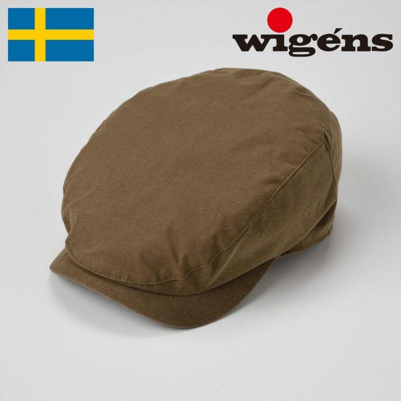 帽子 ハンチング Wigens(ヴィゲーンズ) Ivy Contemporary Cap(アイビー コンテンポラリー キャップ)W101252 カーキ