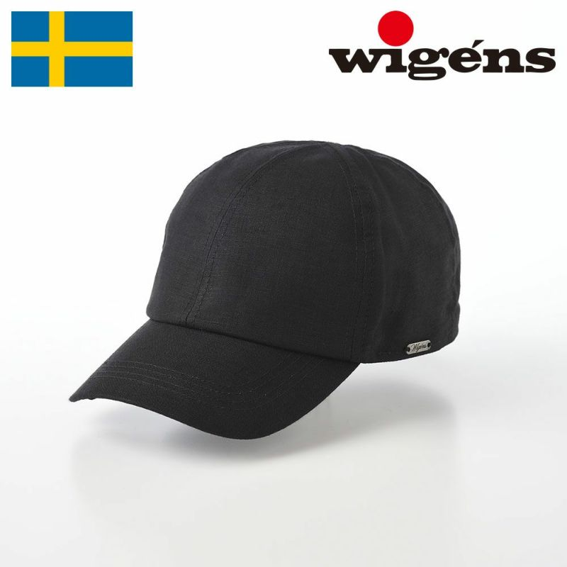 帽子 キャップ Wigens(ヴィゲーンズ) Baseball cap(ベースボールキャップ)W120366 ブラック