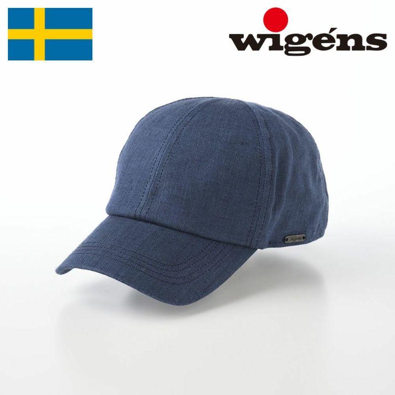 帽子 キャップ Wigens(ヴィゲーンズ) Baseball cap(ベースボールキャップ)W120366 ネイビー