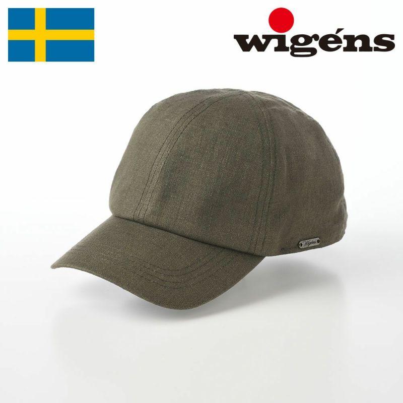 帽子 キャップ Wigens(ヴィゲーンズ) Baseball cap(ベースボールキャップ)W120366 オリーブ
