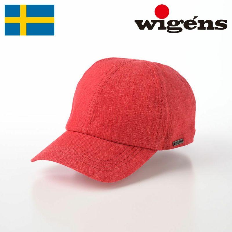帽子 キャップ Wigens(ヴィゲーンズ) Baseball cap(ベースボールキャップ)W120366 レッド