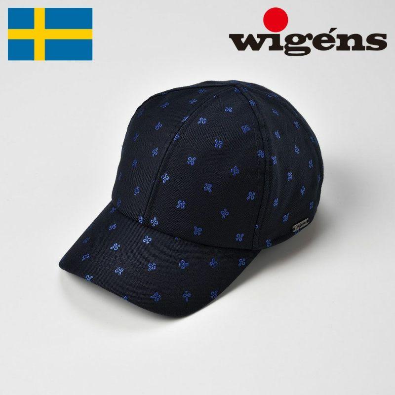 帽子 キャップ Wigens(ヴィゲーンズ) Baseball cap(ベースボールキャップ)W120399 ブルー