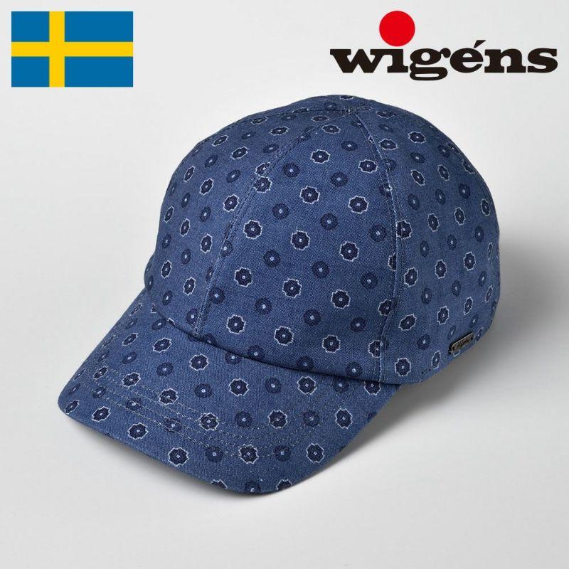 帽子 キャップ Wigens(ヴィゲーンズ) Baseball cap(ベースボールキャップ)W120401 ブルー