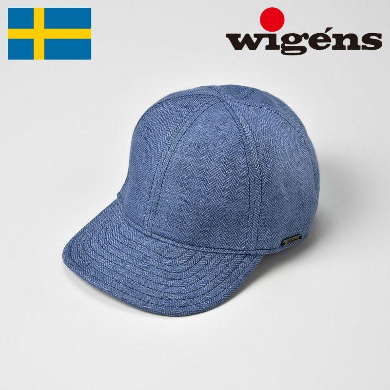 帽子 キャップ Wigens(ヴィゲーンズ) Baseball Cap(ベースボールキャップ)W120369 ブルー