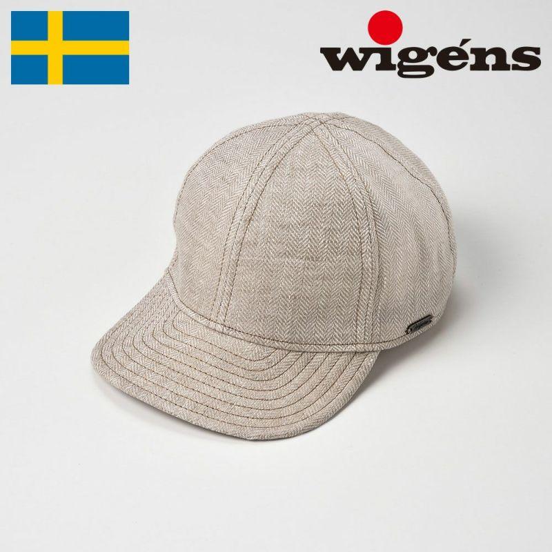 帽子 キャップ Wigens(ヴィゲーンズ) Baseball Cap(ベースボールキャップ)W120369 エクリュ