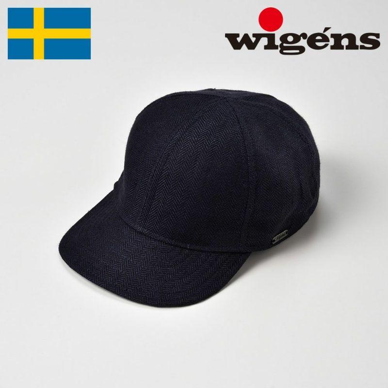 帽子 キャップ Wigens(ヴィゲーンズ) Baseball Cap(ベースボールキャップ)W120369 ネイビー