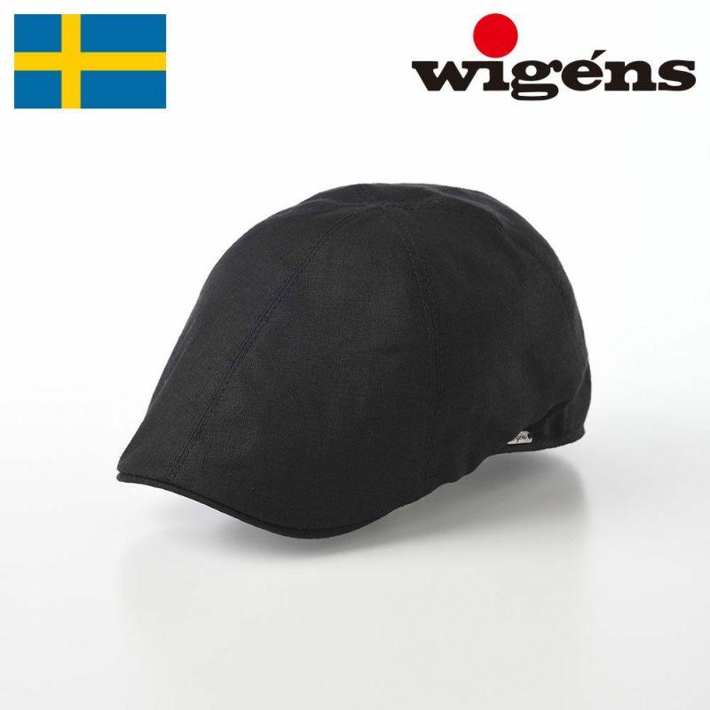 帽子 ハンチング Wigens(ヴィゲーンズ) Pub Cap(パブキャップ)W101244 ブラック