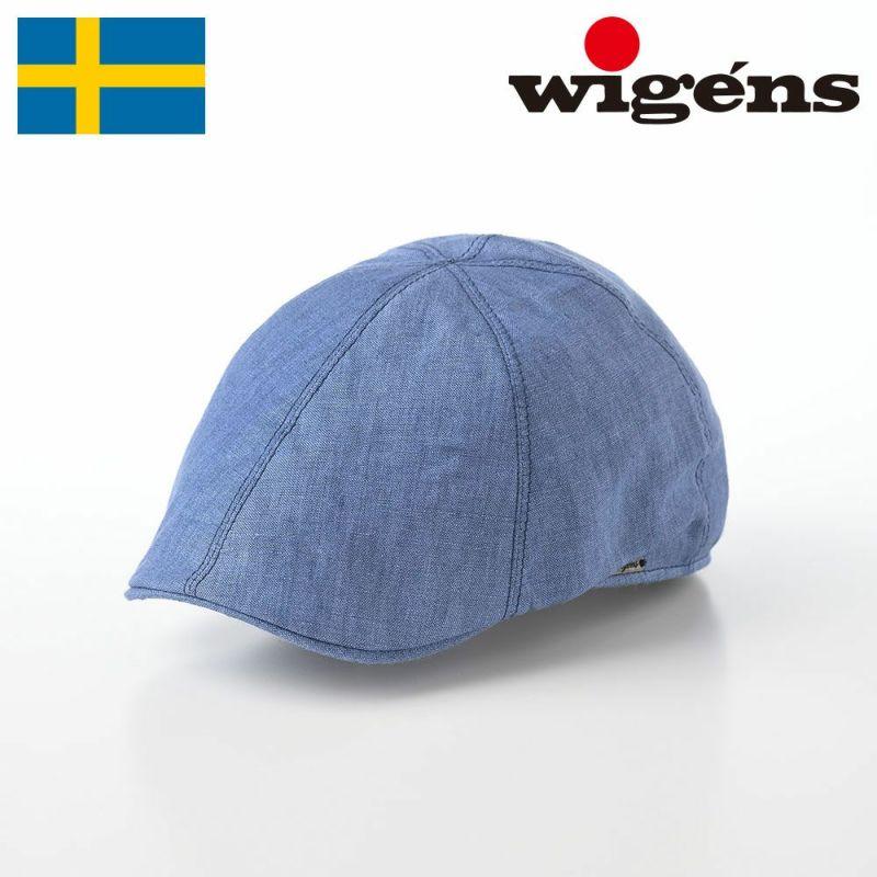 帽子 ハンチング Wigens(ヴィゲーンズ) Pub Cap(パブキャップ)W101244 ブルー