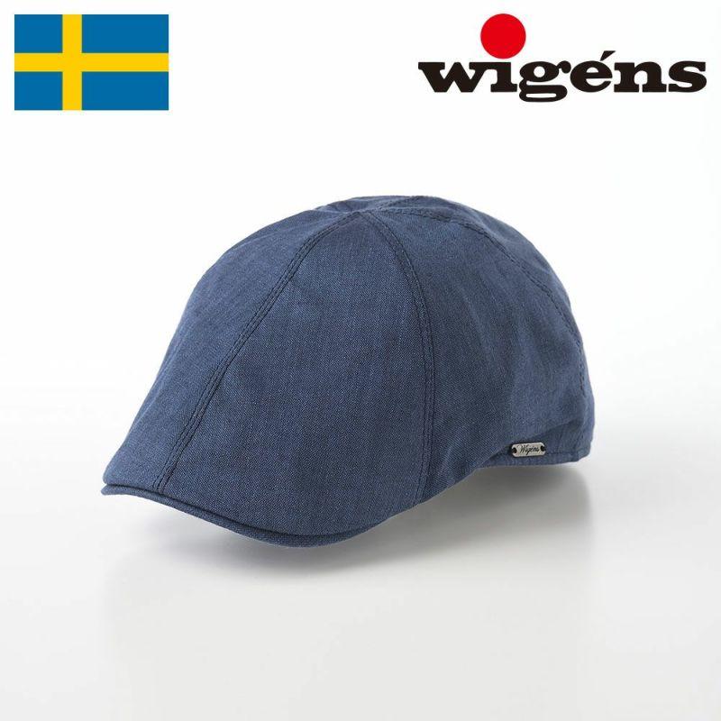 帽子 ハンチング Wigens(ヴィゲーンズ) Pub Cap(パブキャップ)W101244 ネイビー