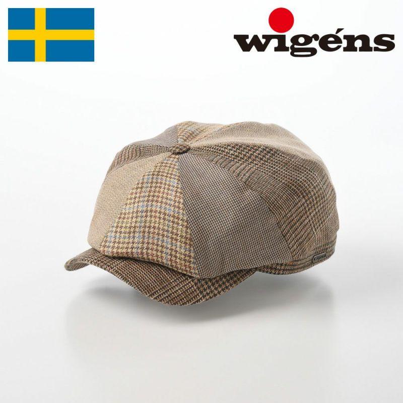 帽子 キャスケット Wigens(ヴィゲーンズ) Newsboy Classic Cap(ニュースボーイ クラシック キャップ)W101437 キャメル