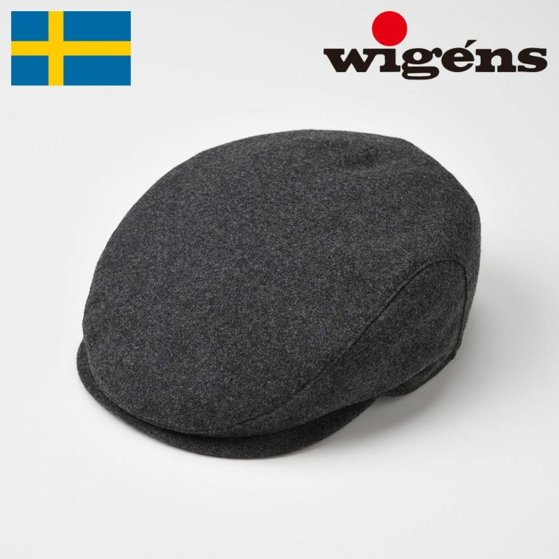 帽子 ハンチング Wigens(ヴィゲーンズ) Ivy Slim Cap(アイビー スリム キャップ)W110114 グレー