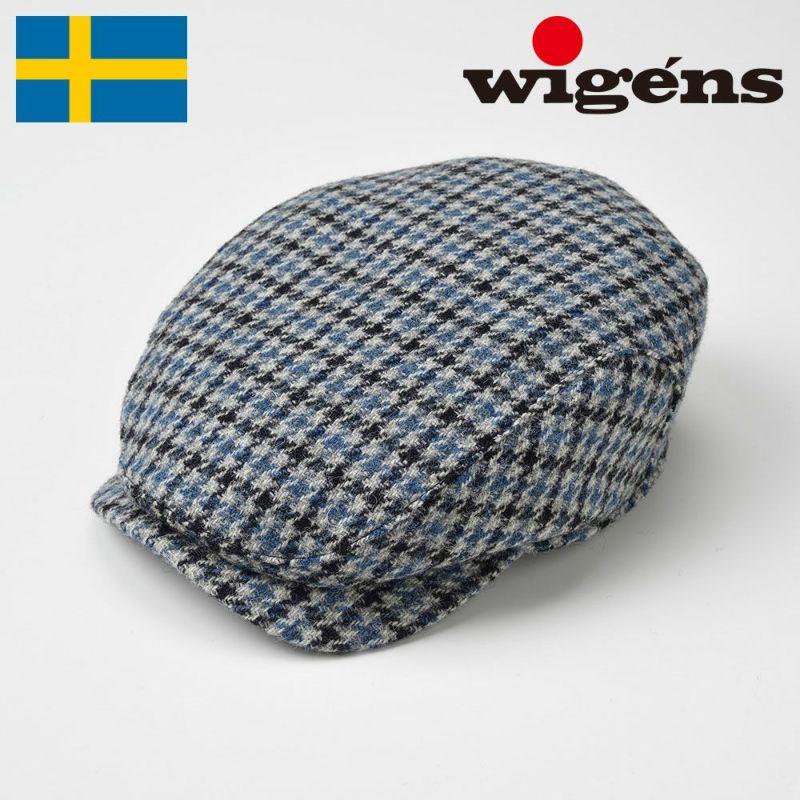 帽子 ハンチング Wigens(ヴィゲーンズ) Ivy Contemporary Cap(アイビー コンテンポラリー キャップ)W101020 ブルー