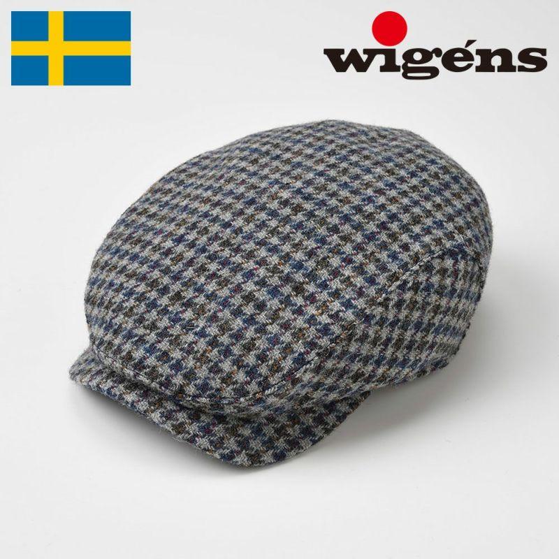 帽子 ハンチング Wigens(ヴィゲーンズ) Ivy Contemporary Cap(アイビー コンテンポラリー キャップ)W101020 グレー