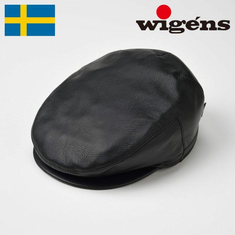 帽子 ハンチング Wigens(ヴィゲーンズ) Ivy Vintage Cap(アイビー ヴィンテージ キャップ)W110015 ブラック