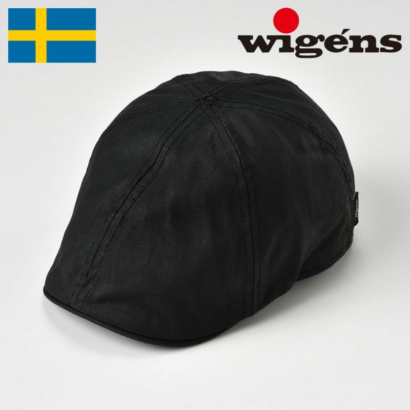 帽子 ハンチング Wigens(ヴィゲーンズ) Pub Cap(パブキャップ)W101323 ブラック