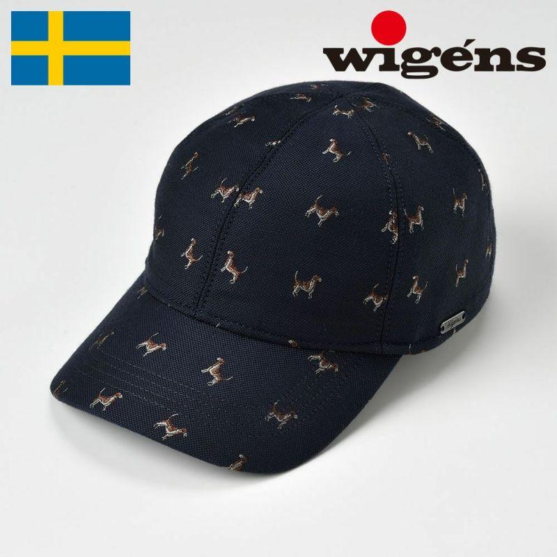 帽子 キャップ Wigens(ヴィゲーンズ) Baseball cap(ベースボールキャップ)W120389 ネイビー