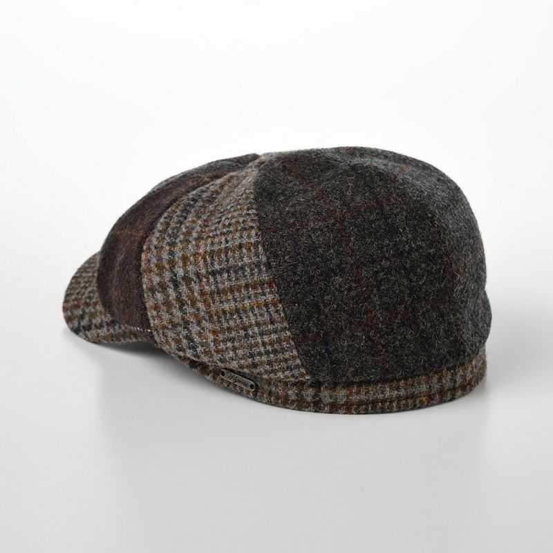 Newsboy Classic Cap Harris Tweed(ニュースボーイ クラシックキャップ ハリスツイード)W101495 グレー