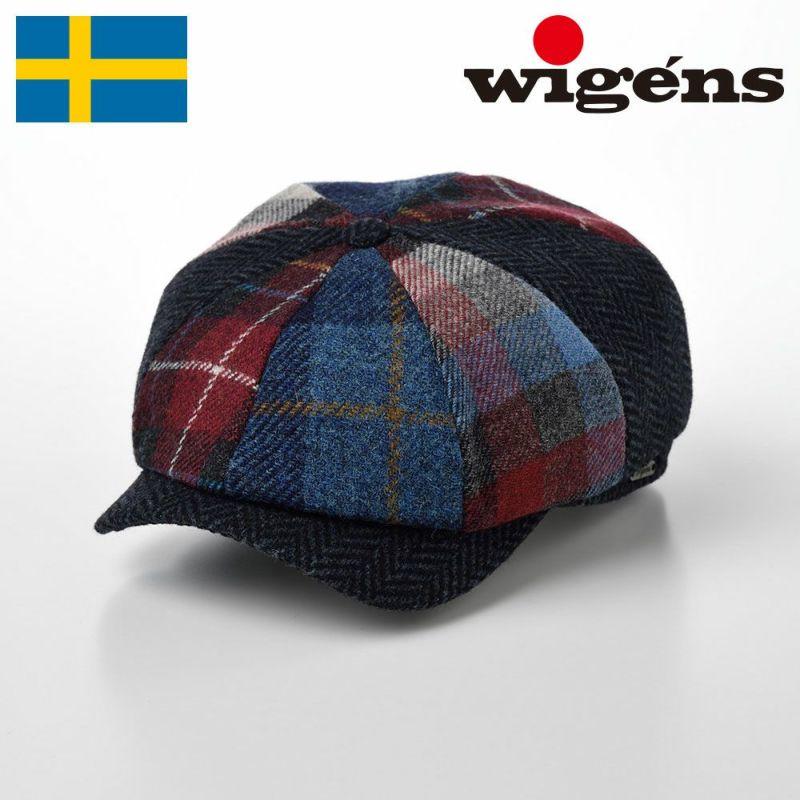 帽子 キャスケット Wigens(ヴィゲーンズ) Newsboy Classic Cap(ニュースボーイ クラシックキャップ)W101536 ダークブルー