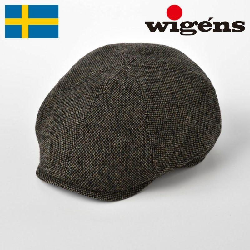 帽子 キャスケット Wigens(ヴィゲーンズ) Newsboy Contemporary Cap Donegal(ニュースボーイ コンテンポラリーキャップ ドネガル)W101349 オリーブ