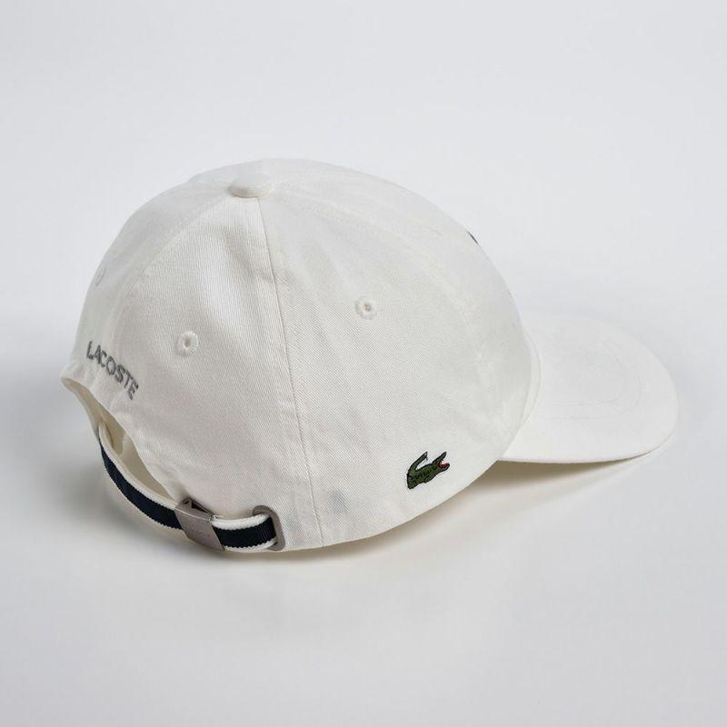 COTTON 6PANEL INITIAL CAP(コットン 6パネル イニシャル キャップ)L1086 ホワイト