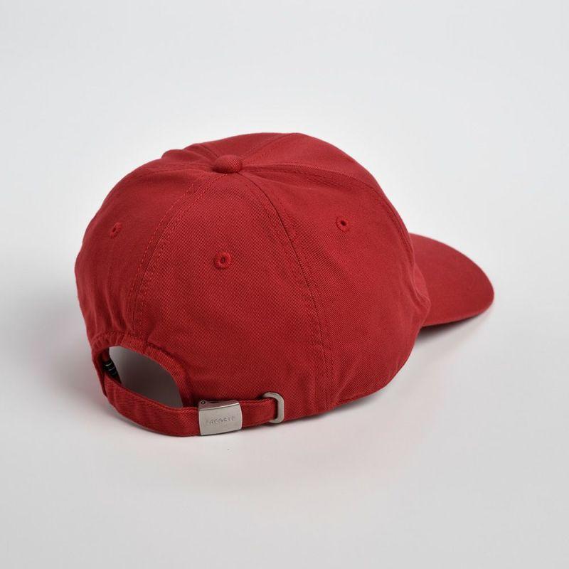 COTTON 6PANEL CAP(コットン 6パネルキャップ)L3908 レッド