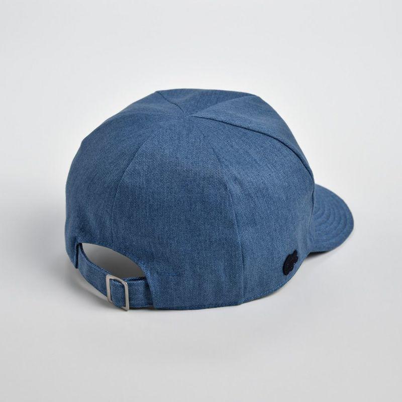 COTTON SHORT VISOR CAP(コットンショートバイザーキャップ)L7044 ブルー