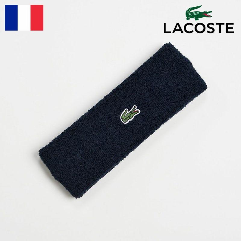 ヘアバンド LACOSTE(ラコステ) COOL MAX HAIR BAND(クールマックス ヘアバンド)L7070 ネイビー