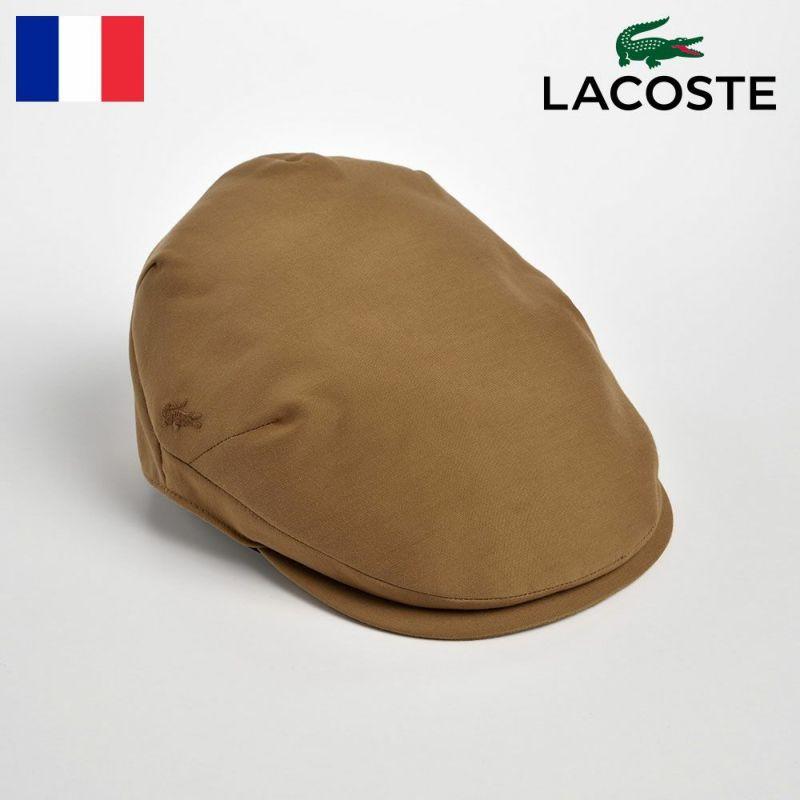帽子 ハンチング LACOSTE(ラコステ) GROSGRAIN HUNTING(グログランハンチング)L1045 ベージュ