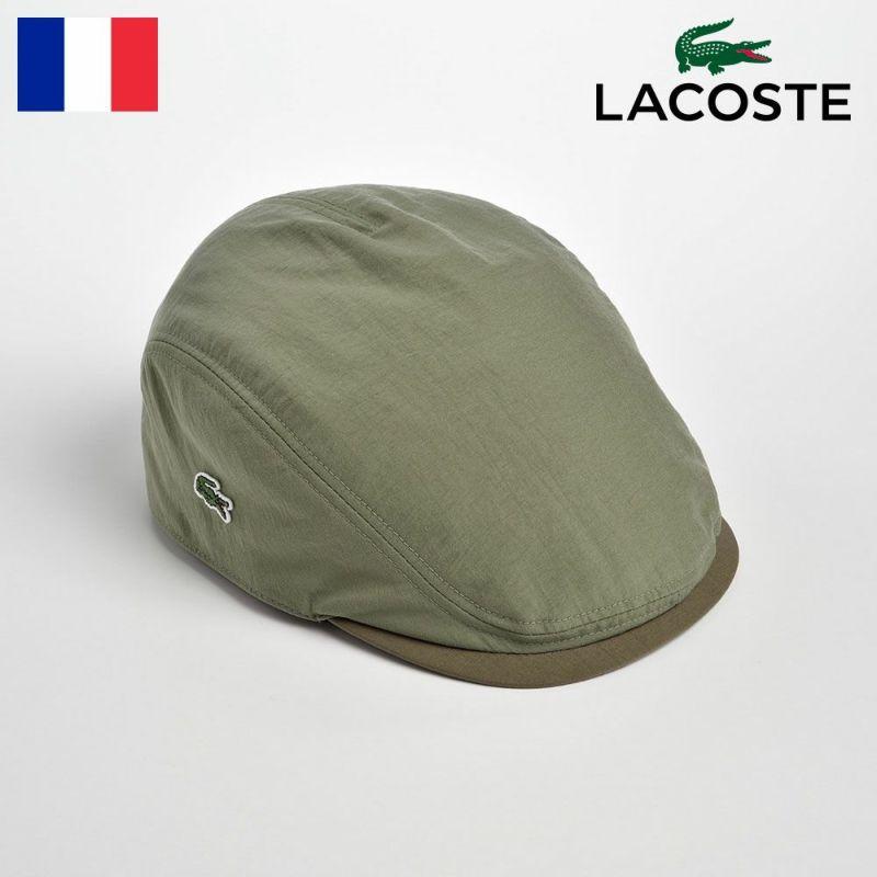 帽子 ハンチング LACOSTE(ラコステ) POPLIN HUNTING(ポプリン ハンチング)L1103 カーキ