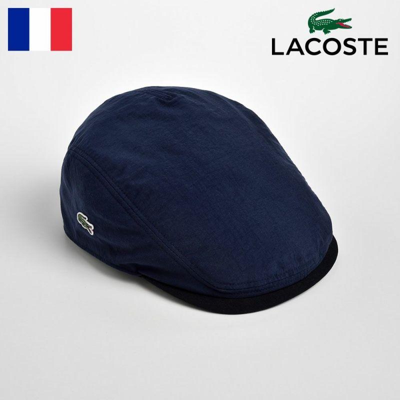 帽子 ハンチング LACOSTE(ラコステ) POPLIN HUNTING(ポプリン ハンチング)L1103 ネイビー