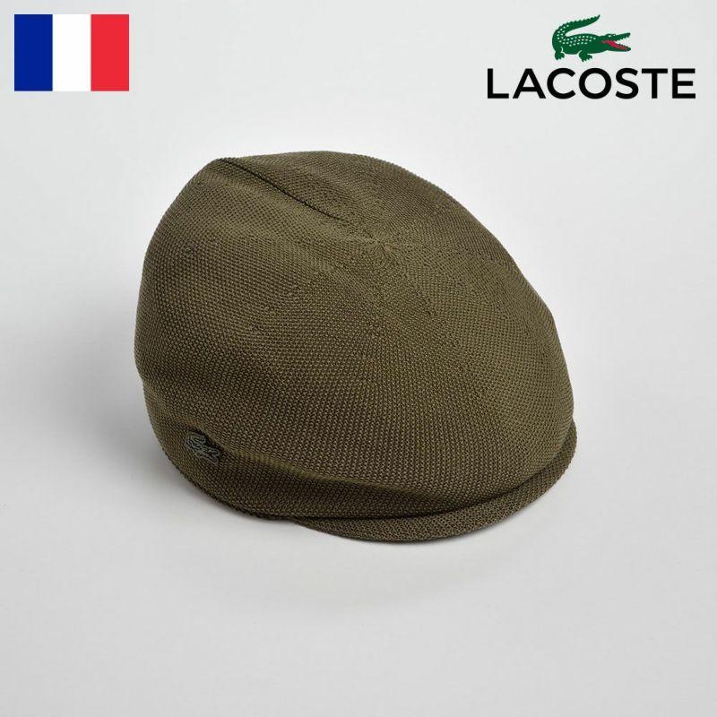 帽子 ハンチング LACOSTE(ラコステ) THERMO CASKET(サーモキャスケット)L7017 カーキ