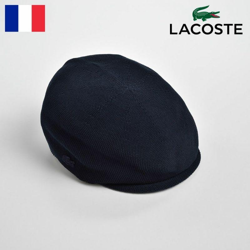 帽子 ハンチング LACOSTE(ラコステ) THERMO CASKET(サーモキャスケット)L7017 ネイビー