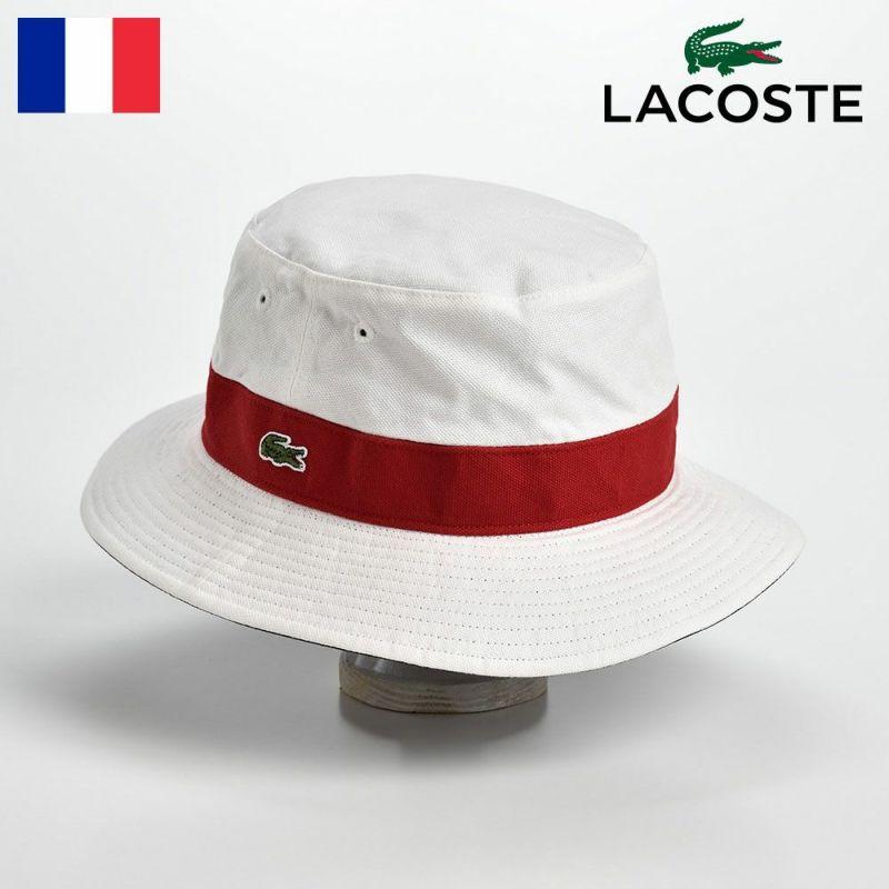 帽子 ハット LACOSTE(ラコステ) COTTON REVERSIBLE SAFARI(コットン リバーシブルサファリ)L3481 ライトレッド