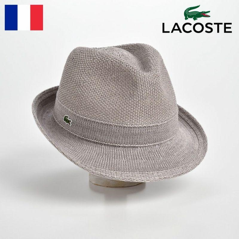 帽子 ハット LACOSTE(ラコステ) MANISH THERMO KNIT HAT(マニッシュ サーモニットハット)L3523 グレー