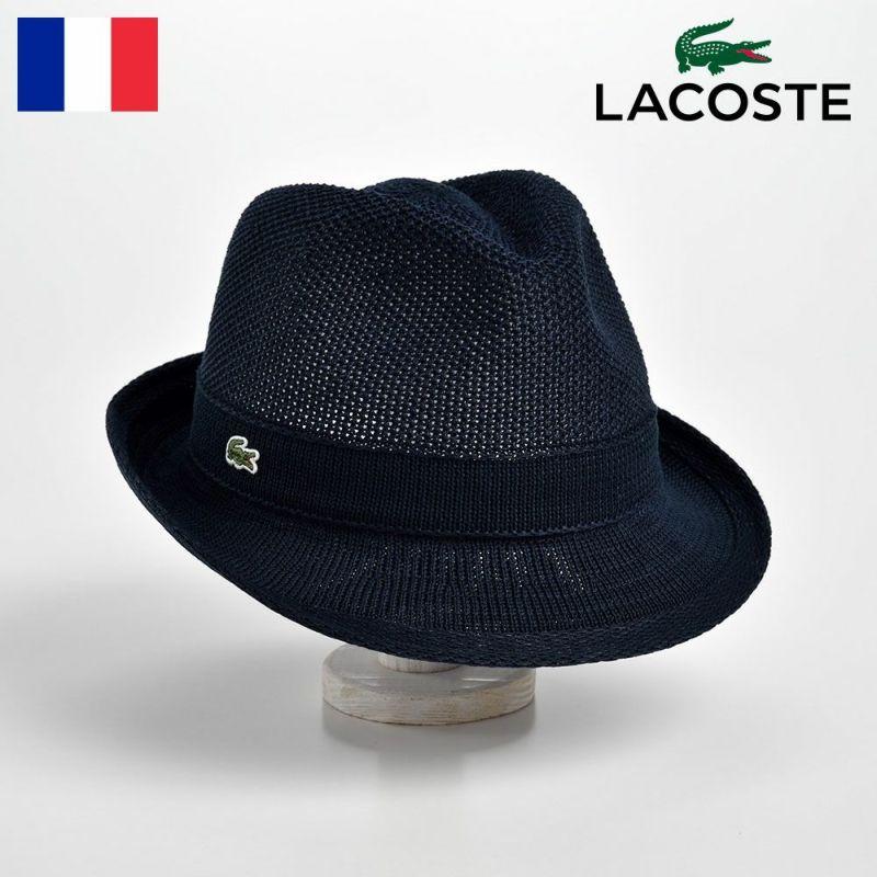 帽子 ハット LACOSTE(ラコステ) MANISH THERMO KNIT HAT(マニッシュ サーモニットハット)L3523 ネイビー