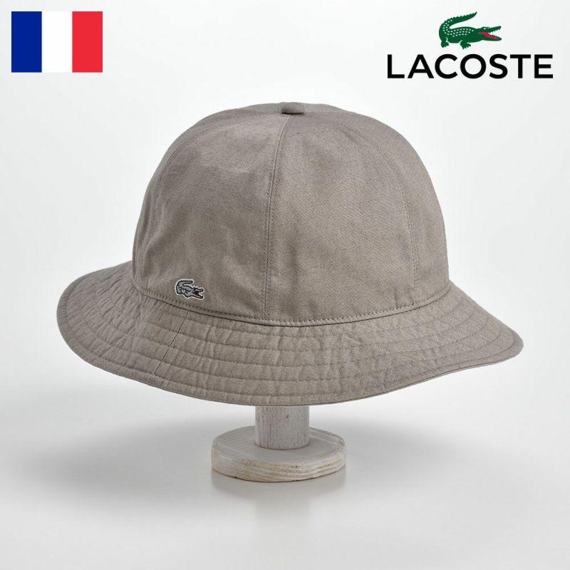 帽子 ハット LACOSTE(ラコステ) METRO HAT(メトロハット)L7024 グレー