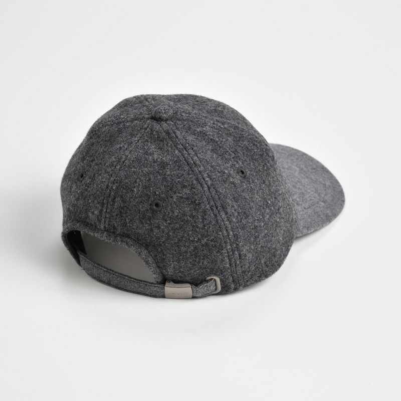MELTON WOOL 6PANEL CAP(メルトンウール 6パネルキャップ) L1124 グレー