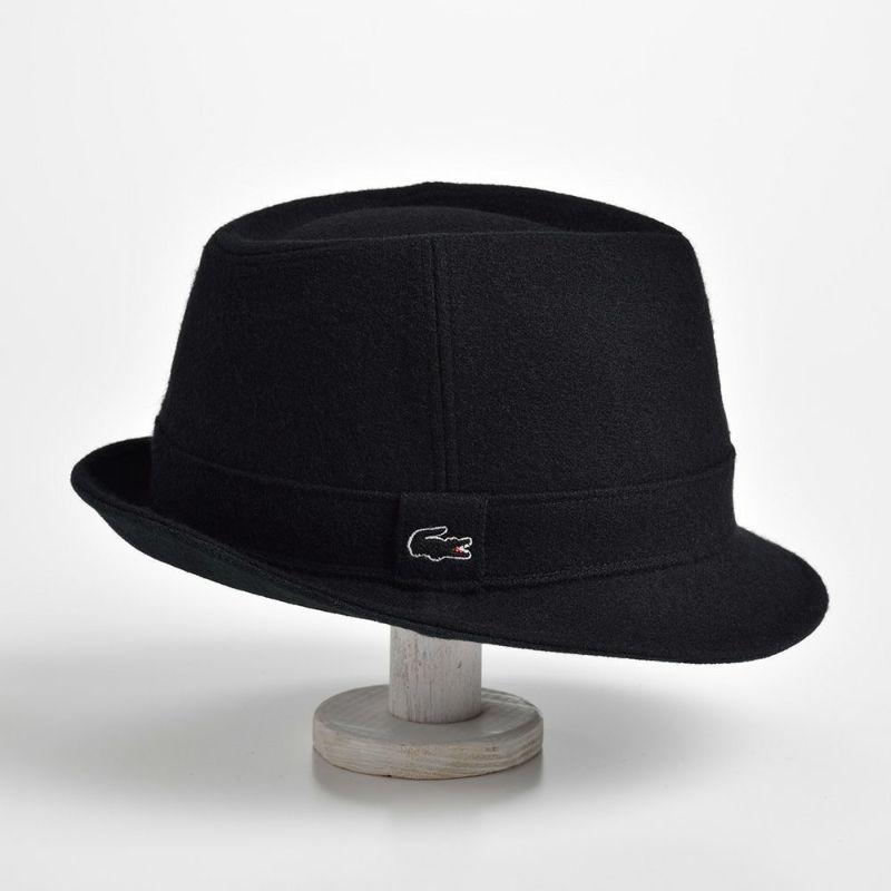 MANISH MELTON WOOL HAT(マニッシュ メルトンウールハット) L1077 ブラック
