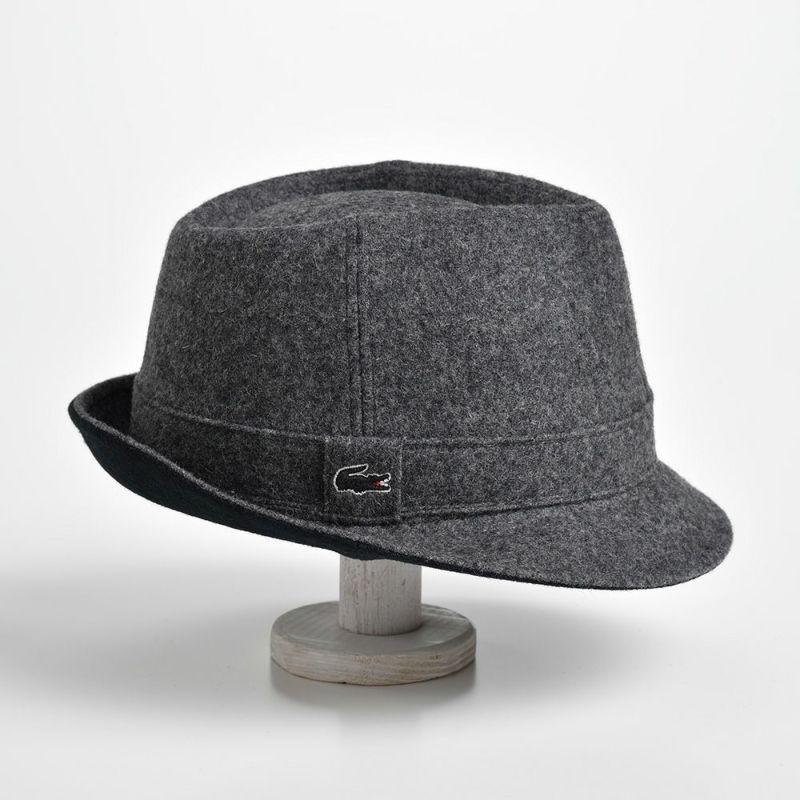 MANISH MELTON WOOL HAT(マニッシュ メルトンウールハット) L1077 グレー