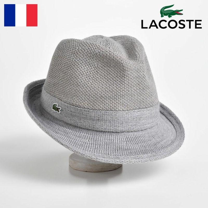 帽子 ハット LACOSTE(ラコステ) MANISH THERMO KNIT HAT(マニッシュ サーモニットハット) L3419 グレー