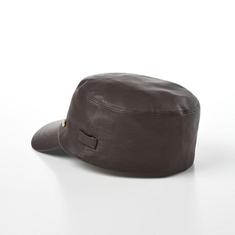 Sheep Leather Cap(シープレザー キャップ) BX616 ブラウン