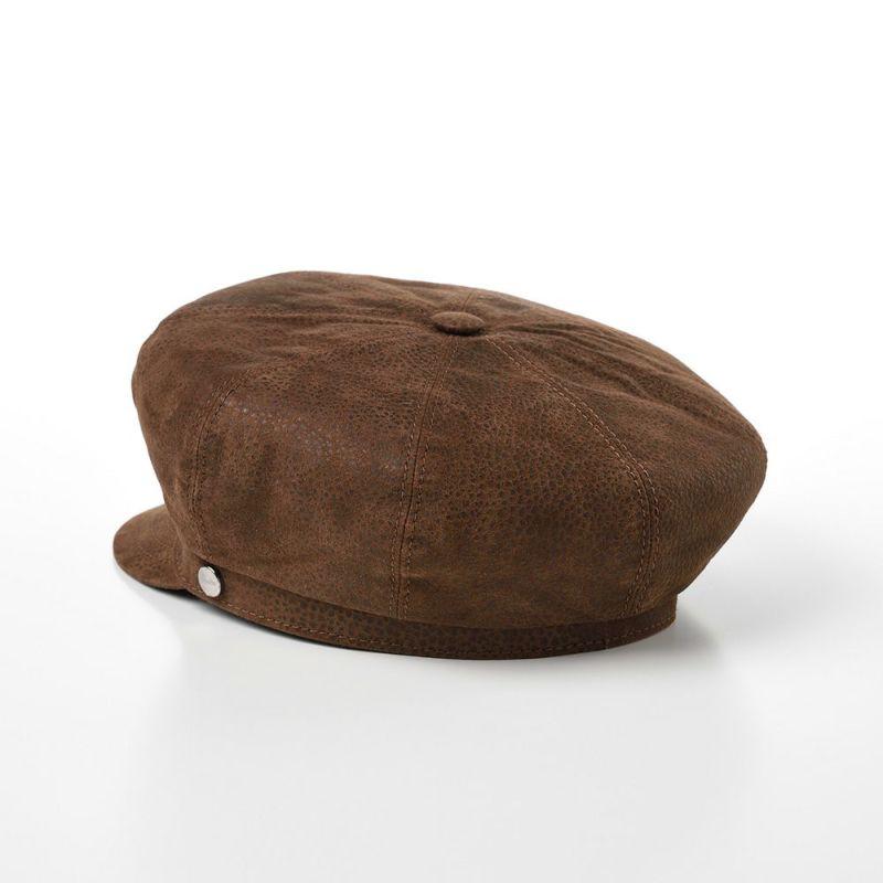 Sheep Leather Marinecap(シープレザー マリンキャップ) B45073Q ブラウン