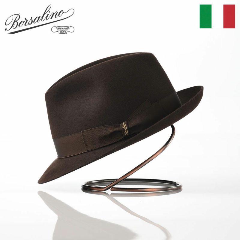 帽子 フェルトハット Borsalino(ボルサリーノ) Charley Lazart(シャルレイ ラザート) 111160 ブラウン