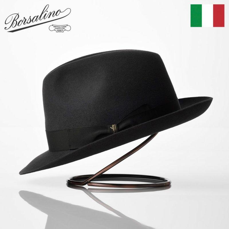 帽子 フェルトハット Borsalino(ボルサリーノ) Marengo Lazart(マレンゴ ラザート) 490005 グレー