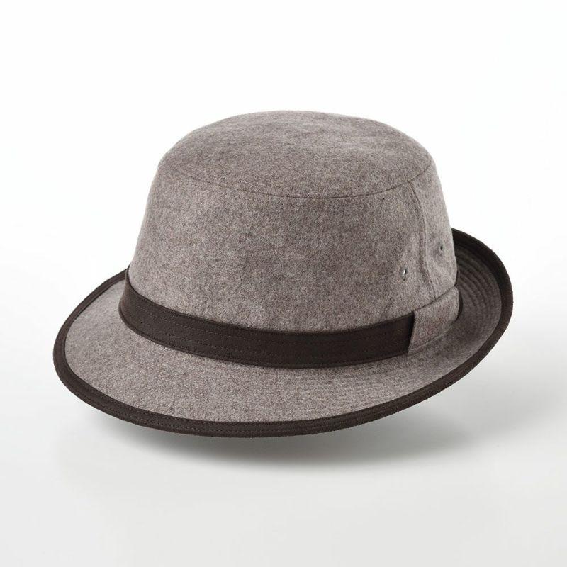 帽子 ソフトハット Borsalino(ボルサリーノ) Alpen Flano Wool(アルペン フラノウール) BS379 ライトブラウン