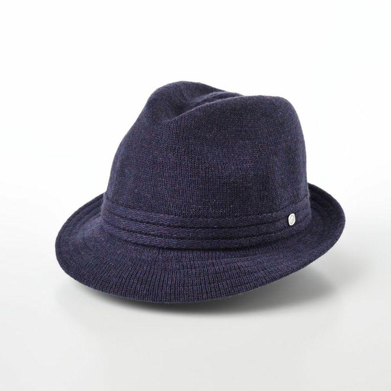 帽子 ソフトハット Borsalino(ボルサリーノ) Wool Mix Thermo Knit(ウールミックス サーモニット) BS226 バイオレット