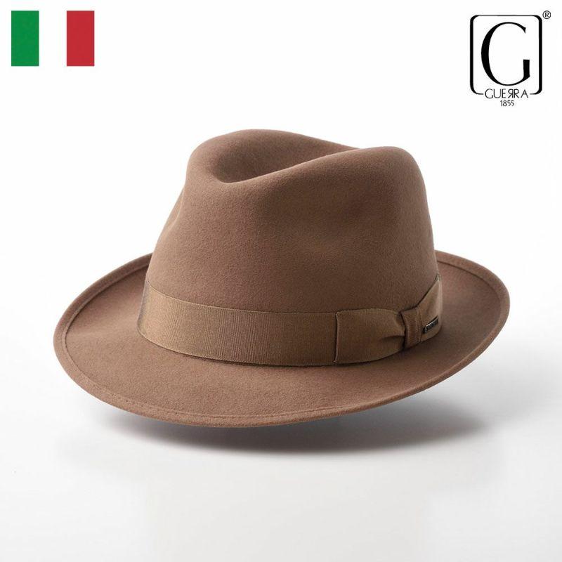 帽子 フェルトハット GUERRA(ゲラ) Rabbit Fur Hat(ラビットファー ハット) G004 ベージュ